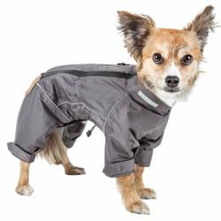 Dog Helios  'hurricanine' Waterproof And Reflective Full Body Dog Coat Jacket W/ Heat Reflective Technology
